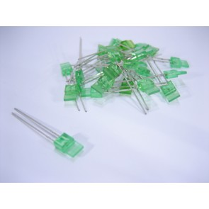 5x1mm Green low cost LED (25 pieces)