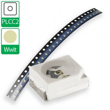 Warm Witte PLCC2 SMD LED