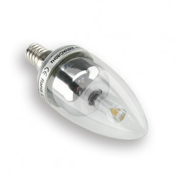 E14 3W Pro LED Spot (warm wit) dimbaar