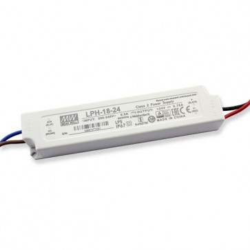 24V 0,75A 18W Mean well voeding LPH-18-24