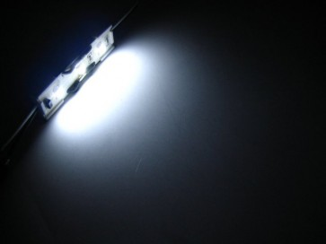 LED strip met 3 SMD LEDs wit