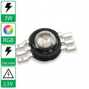 3 watt RGB Prolight opto LED emitter