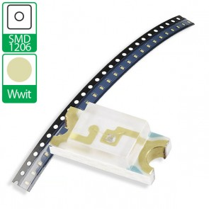 Warm Witte SMD 1206 LED