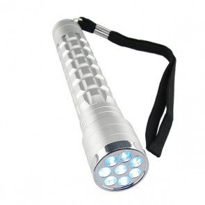 LED Zaklamp (8 witte LEDs)