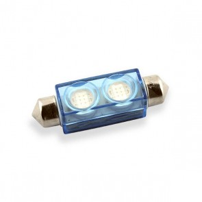 Festoon 38 mm. LED Vervanger (blauw)