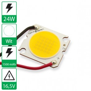 24 Watt COB power LED wit 4000K