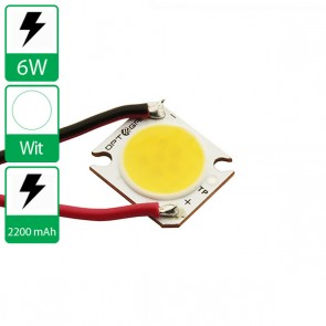 6 Watt COB power LED wit 4000K