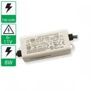700mA 6-11V 8W Mean well voeding APC-8-700
