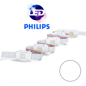 PHILIPS Witte waterdichte LED module met 1 power LED