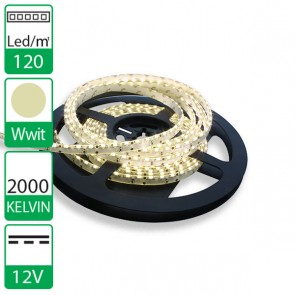 5m Side emiting LED strip 12V waterdicht