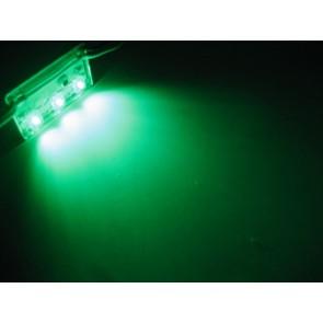 3x hyperflux aluminium LED strip groen