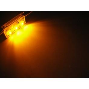 3x hyperflux aluminium LED strip oranje
