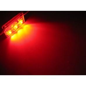 3x hyperflux aluminium LED strip rood
