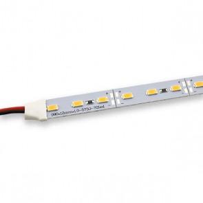 Aluminium Led strip module 99cm met 72 LEDs warmwit 12V