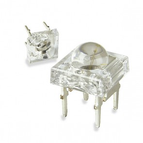 60 witte Nichia hyperflux LEDs + PCB