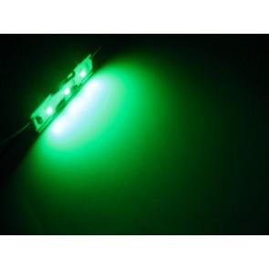 LED strip met 3 SMD LEDs groen