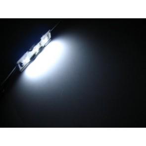 LED strip met 3 SMD LEDs wit