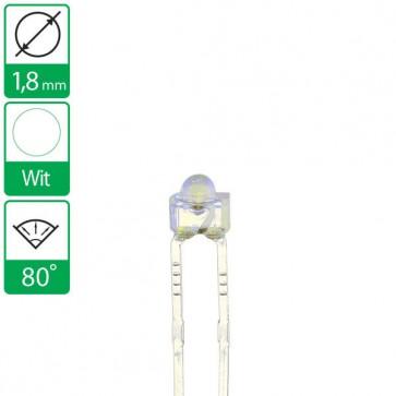 Witte LED 25 graden 1,8mm