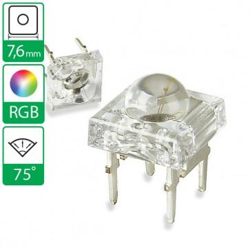 Full color LED 75 graden 7,6mm CC