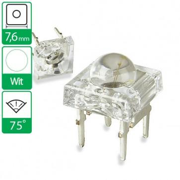Witte LED 75 graden 7,6mm