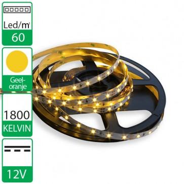 1m 60 Leds 12V SMD flexibele LED strip geel/oranje