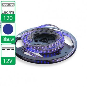 1m 120 Leds 12V SMD flexibele LED strip blauw