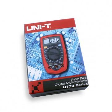 UNI-T UT33D digitale multimeter palmsize