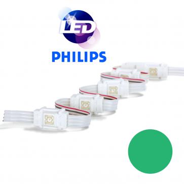 PHILIPS Groene waterdichte LED module met 1 power LED