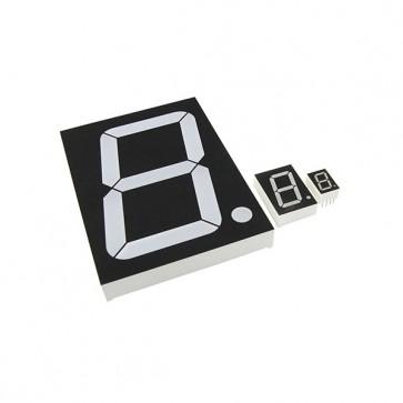 2,6cm Segment display Blauw CC