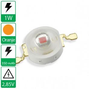 1 watt Oranje Edison opto LED emitter
