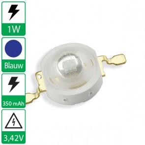 1 watt Blauwe Edison opto LED emitter