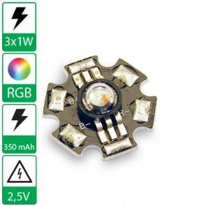 3 watt P4 Edison opto LED op ster RGB