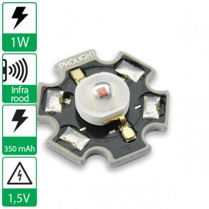1 watt IR POWER LED op ster