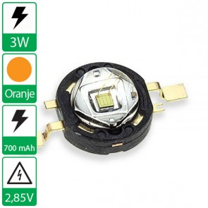 3 watt Oranje Edison opto LED emitter