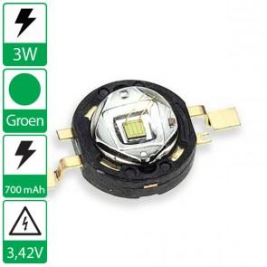 3 watt Groene Edison opto LED emitter