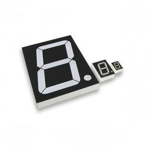 1,3cm Segment display Blauw CA