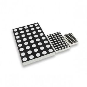 120 mm Dot (10mm) Matrix display Rood