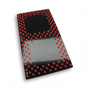 30cm Segment display Rood
