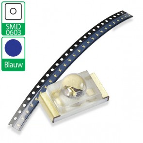 Blauwe SMD 0603 LED