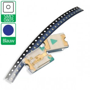 Blauwe SMD 0805 LED