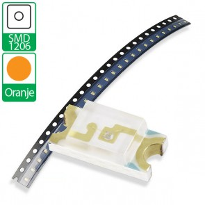 Oranje SMD 1206 LED