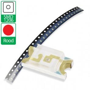 Rode SMD 1206 LED