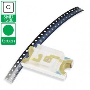Groene SMD 1206 LED