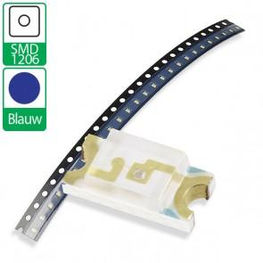 Blauwe SMD 1206 LED