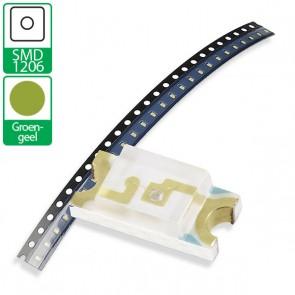 Groen gele SMD 1206 LED