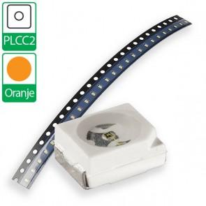 Oranje PLCC2 SMD LED
