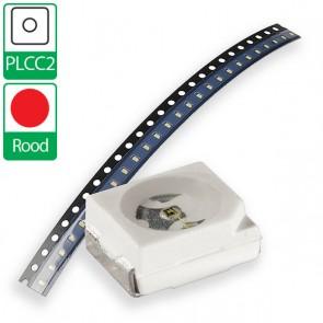 Rode PLCC2 SMD LED
