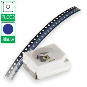 Blauwe PLCC2 SMD LED