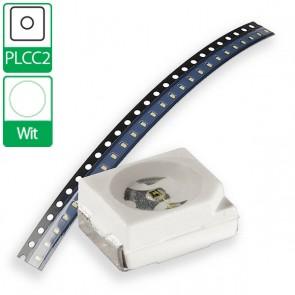 Witte PLCC2 SMD LED