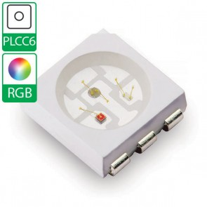 Full color PLCC6 SMD LED